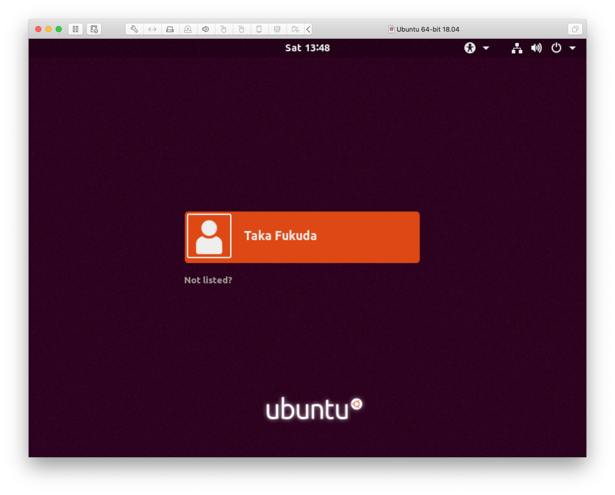 Ubuntu-18.04 Xserver Login Prompt