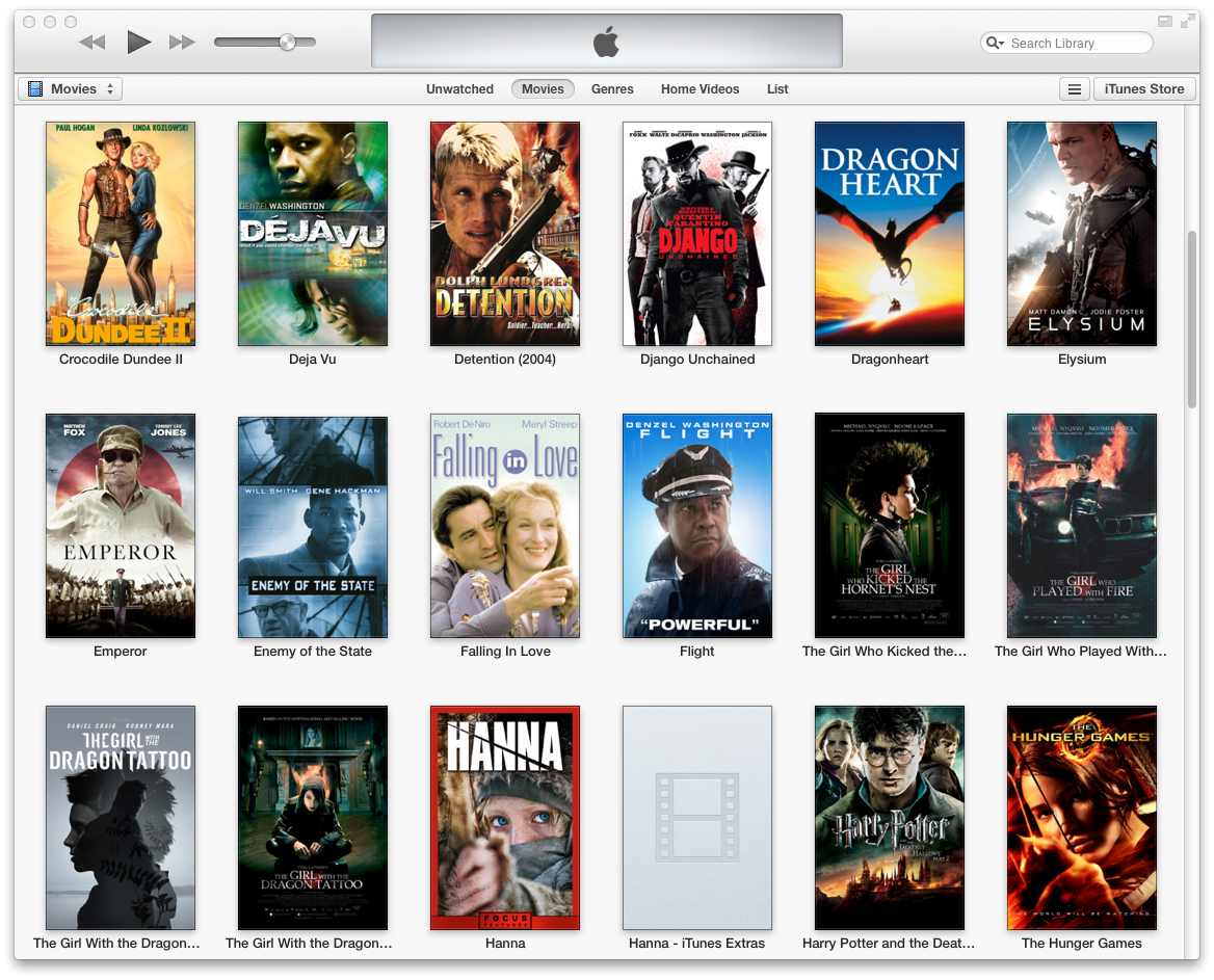 Movies on iTunes