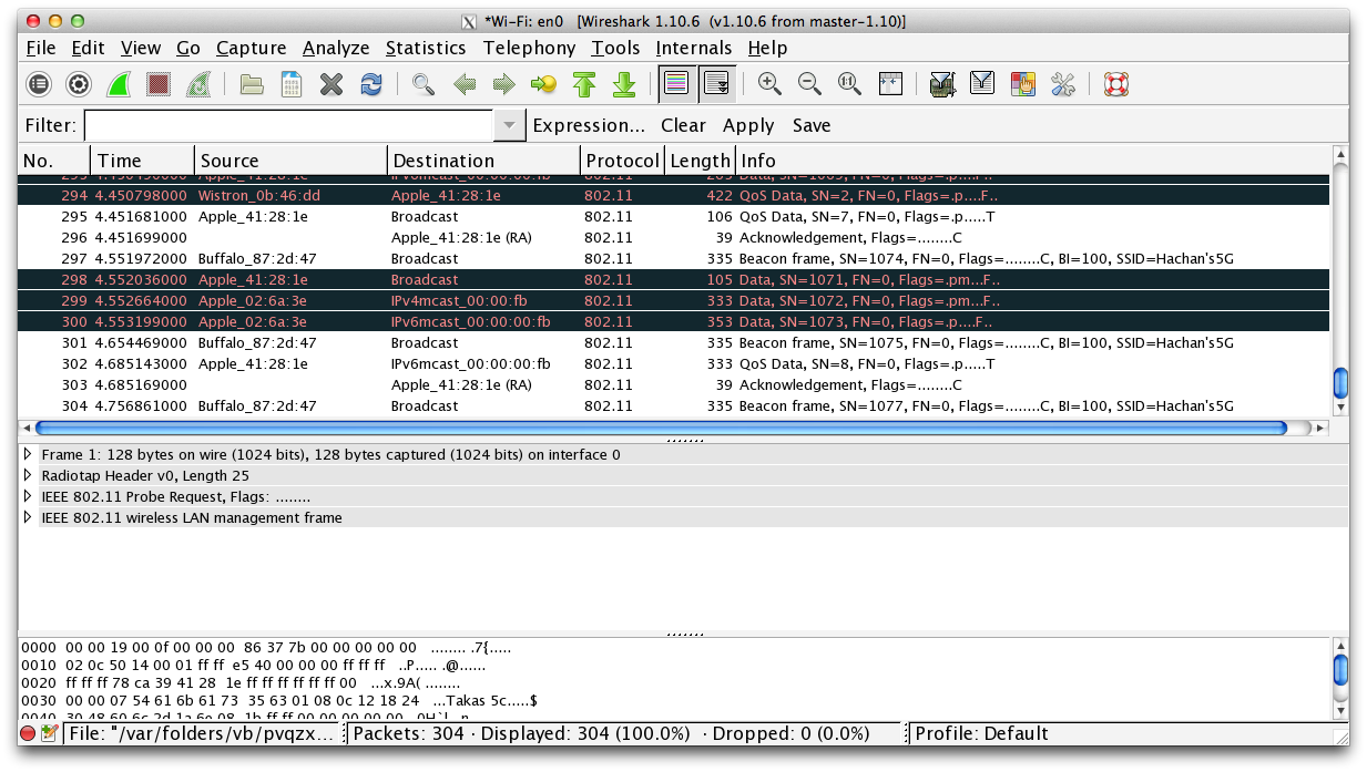Revived Wireshark